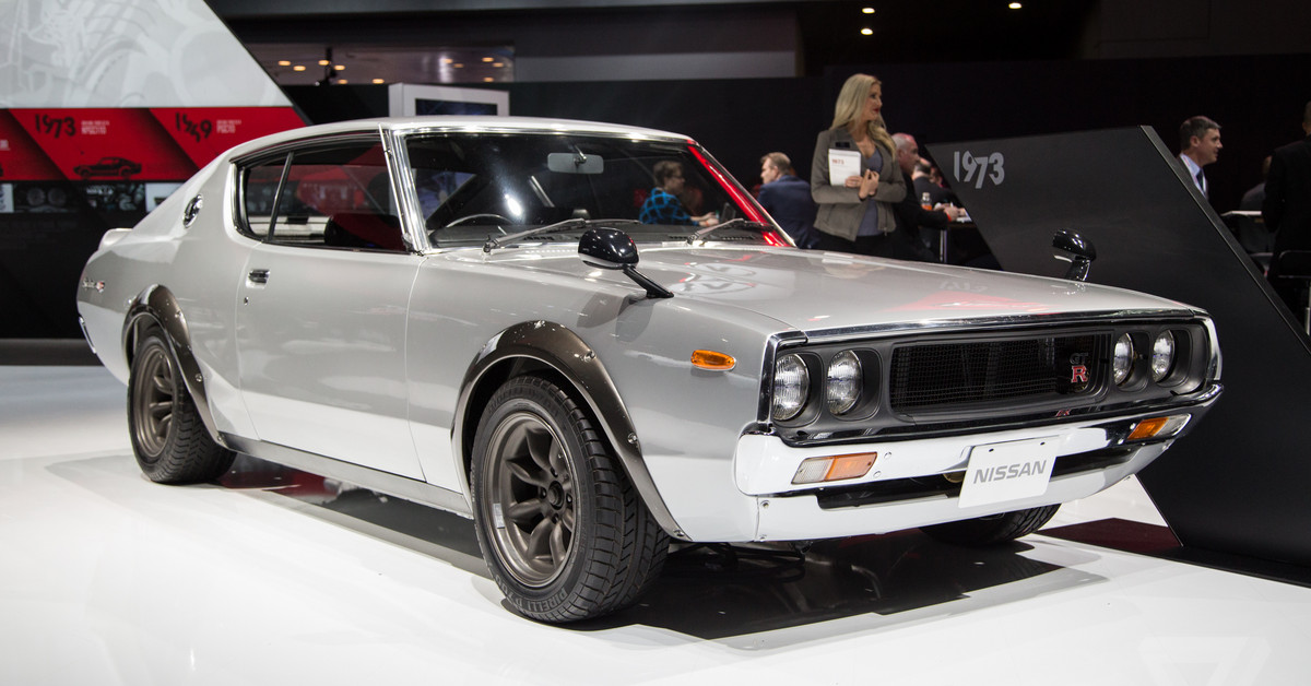 Nissans Vintage Skylines Are The Most Beautiful Cars At The New