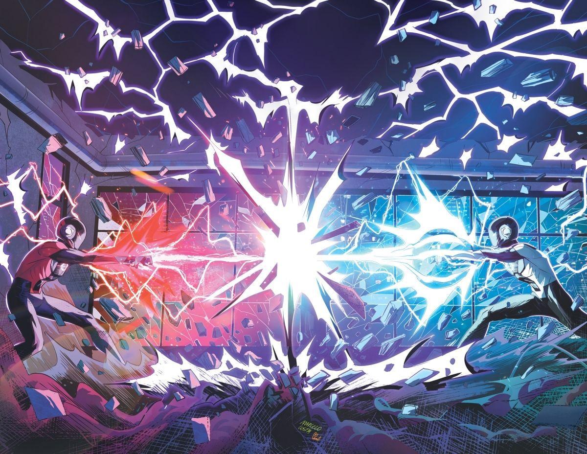 Radiant Black dueling laser blasters