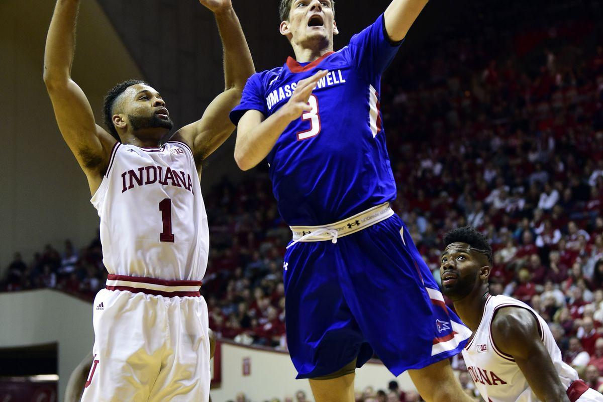 NCAA Basketball: Massachusetts Lowell at Indiana