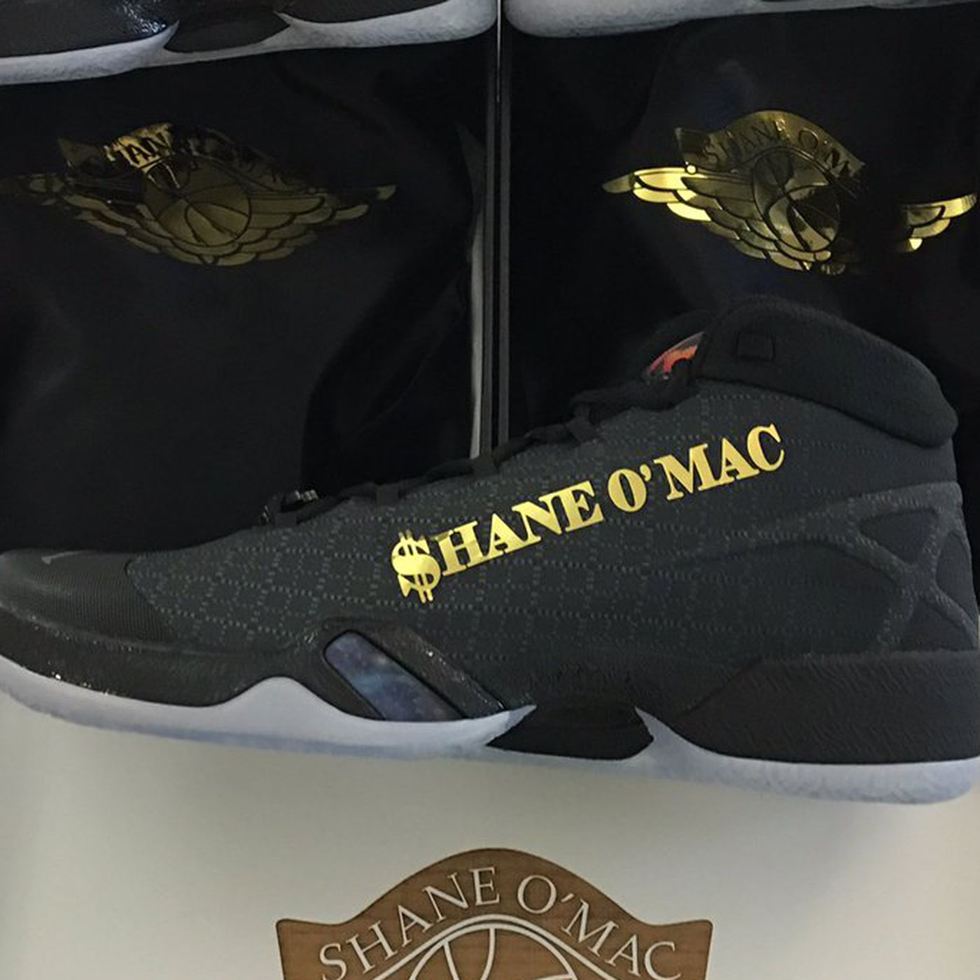 These are the custom Jordans Shane McMahon will wear at WrestleMania 32 -  SBNation.com