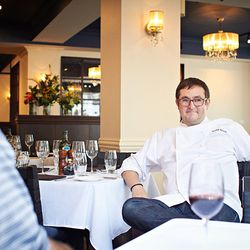 Chef Todd Stein in a relaxed moment