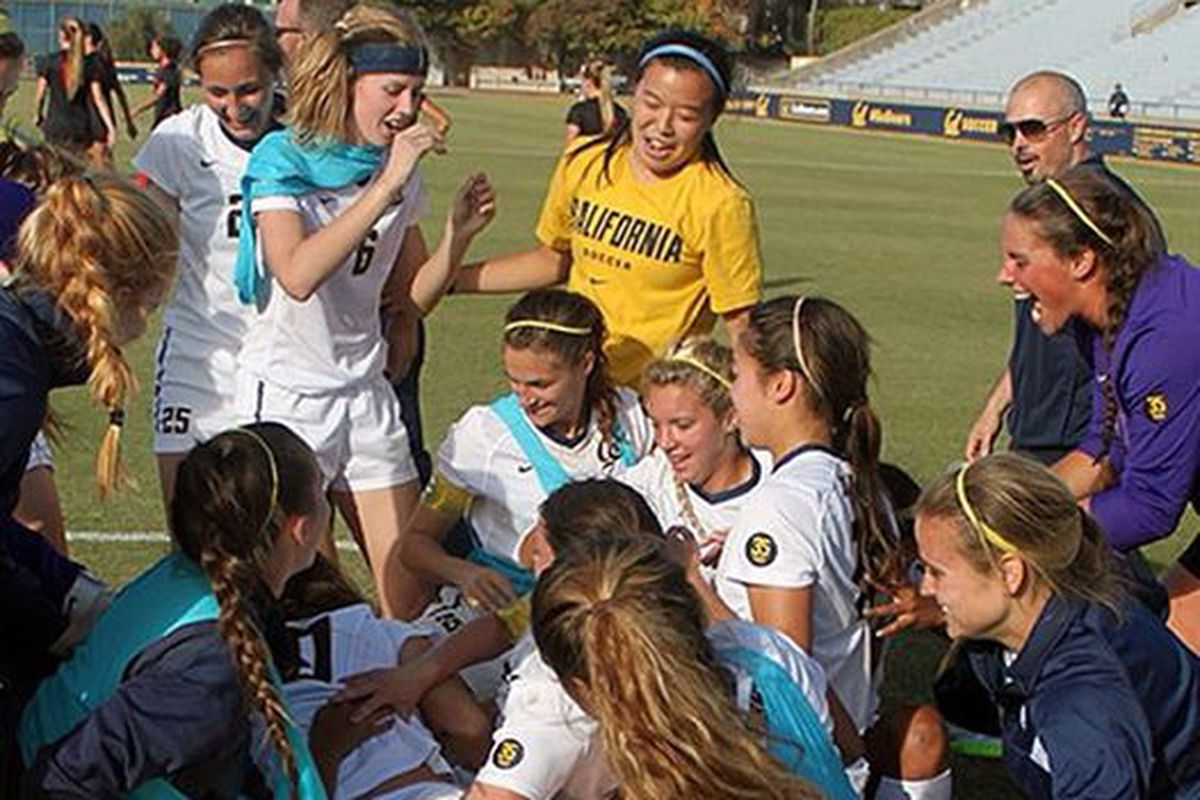 The Golden Bears hope to have another big celebration tonight from Florida in the NCAA 2nd round.
