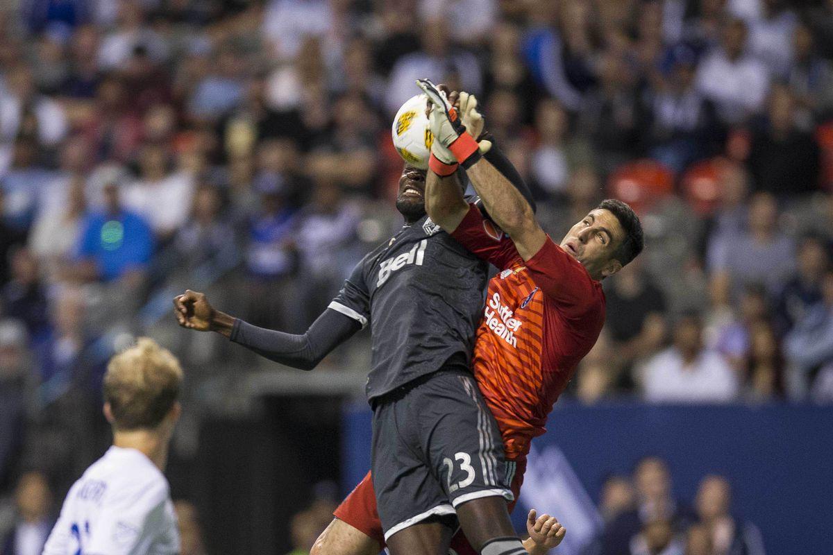 MLS: San Jose Earthquakes at Vancouver Whitecaps