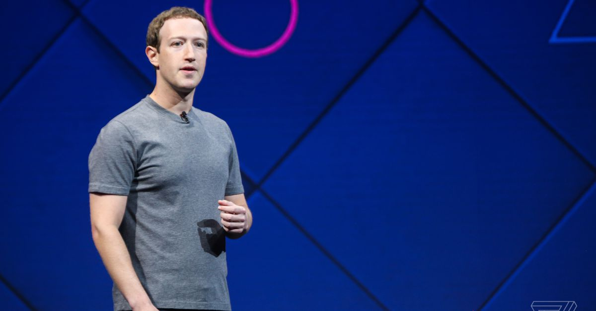 """Mark Zuckerberg on why he doesn't want to """"put an Apple Watch on your face"""" - The Verge"""
