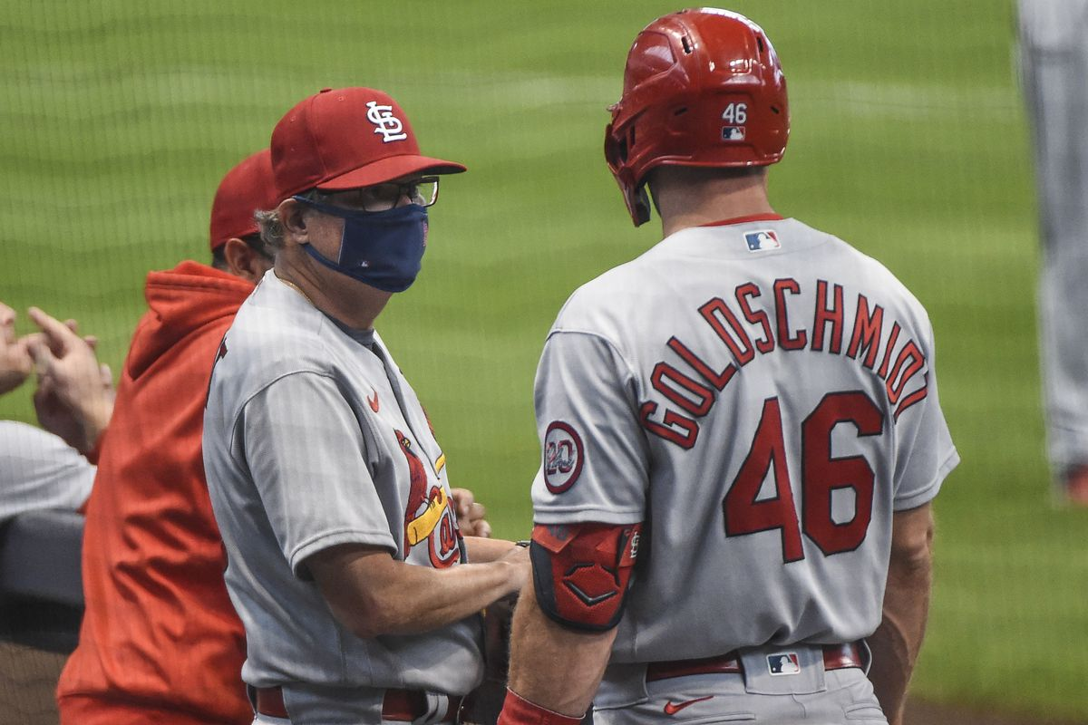 MLB: Game One-St. Louis Cardinals at Milwaukee Brewers