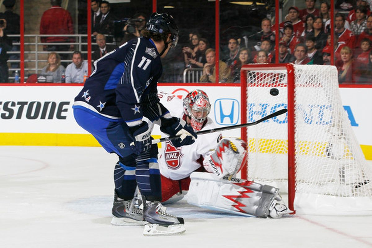 Cam Ward: Even I wouldn't have picked me first.(Photo by Kevin C. Cox/Getty Images)