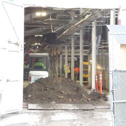 View inside the concourse from Gate K