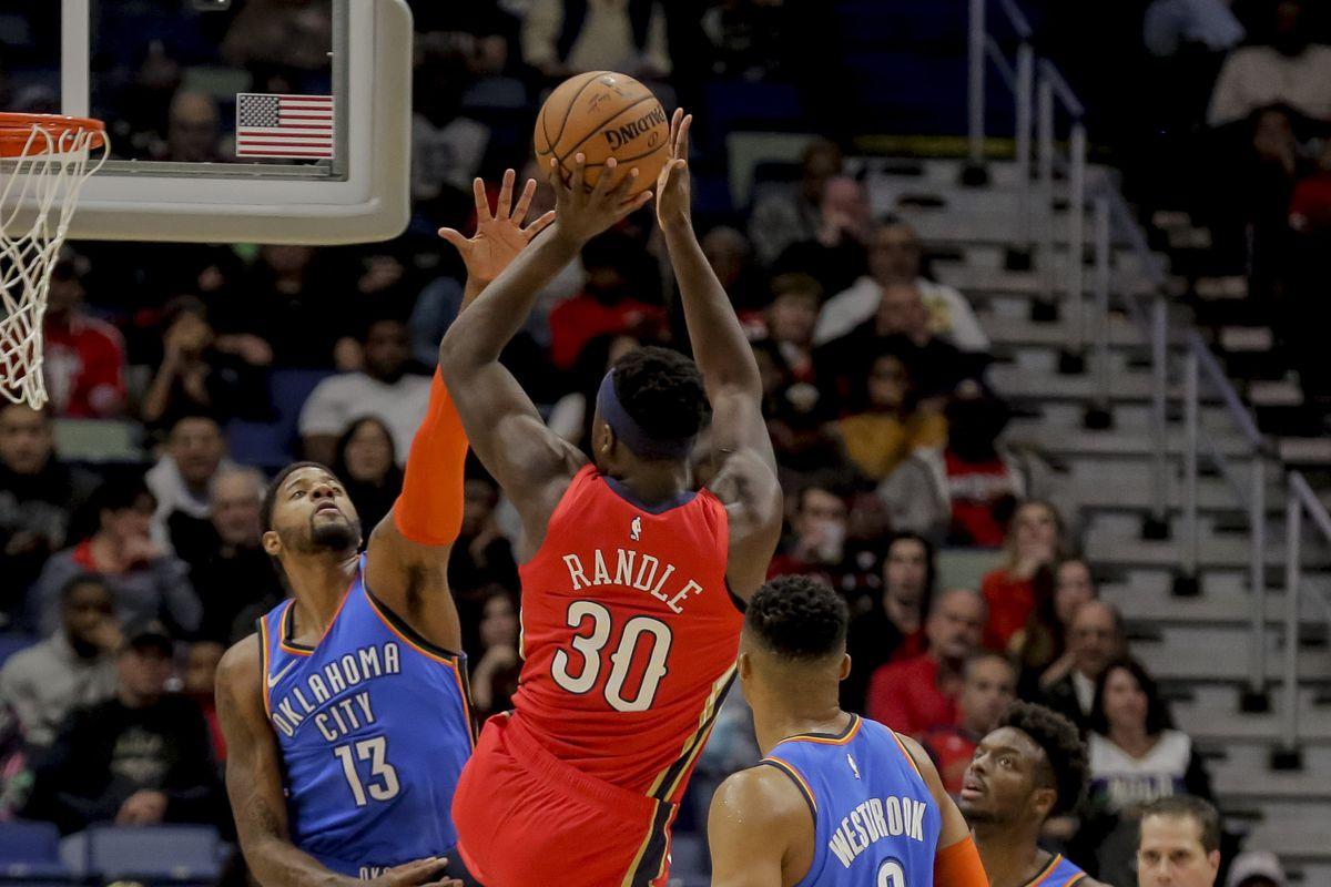 NBA: Oklahoma City Thunder at New Orleans Pelicans
