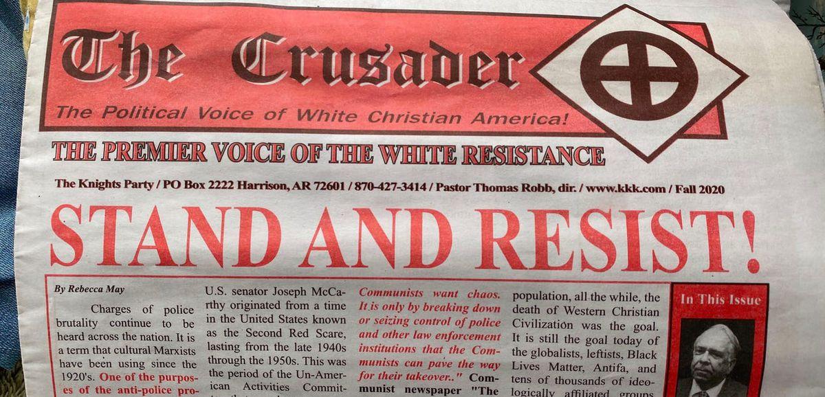 KKK newspaper