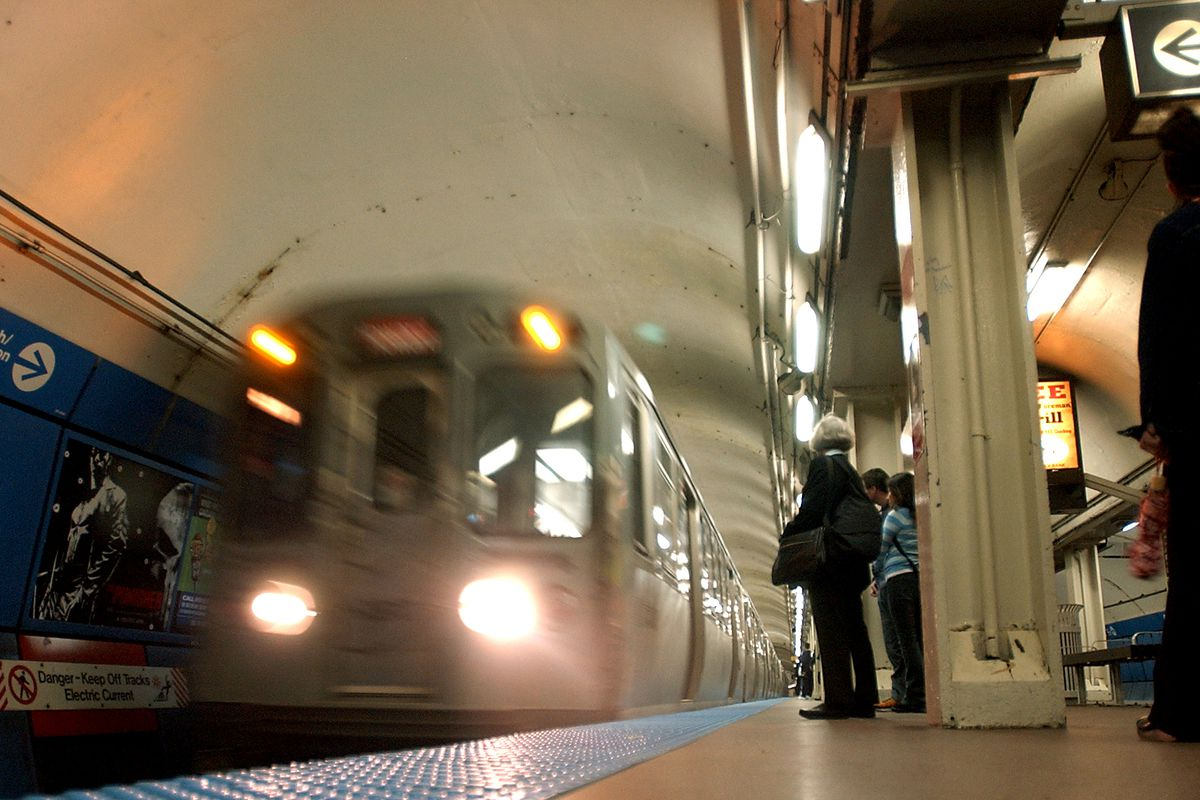 A man was stabbed on a Red Line train July 1, 2020, near the North/Clybourn station.