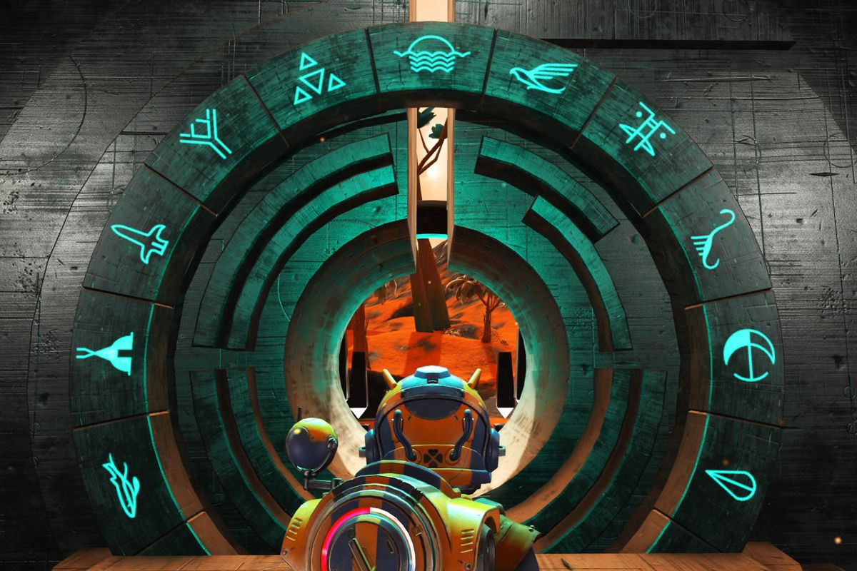 How To Use Portals In No Man's Sky