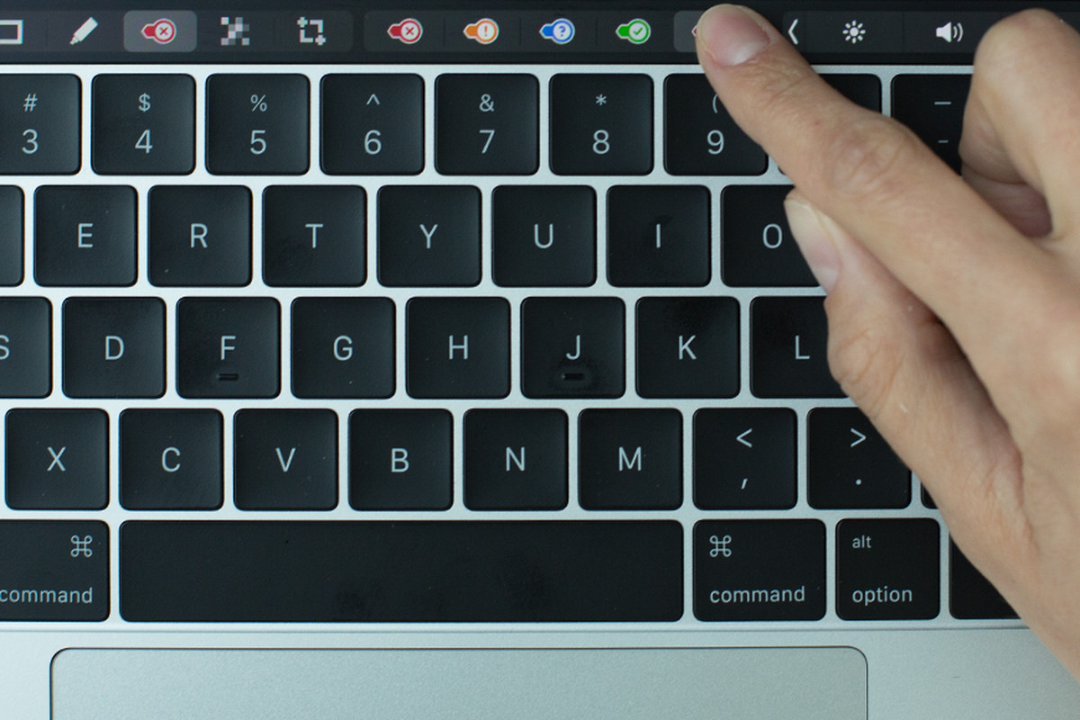 Evernote markup Touch Bar