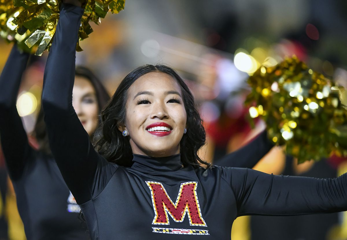 """<p zoompage-fontsize=""""15"""" style="""""""">COLLEGE FOOTBALL: OCT 01 Iowa at Maryland"""