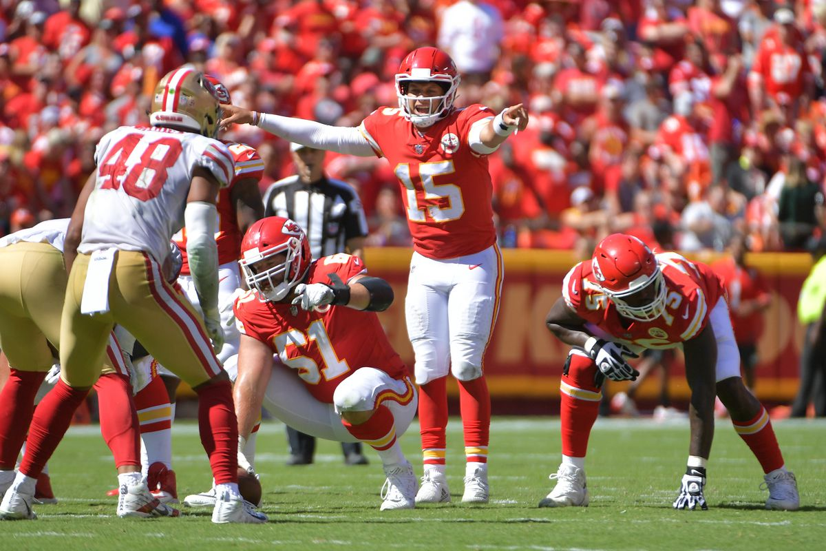 Mahomes is adjusting plays and putting teammates in position to succeed -  Arrowhead Pride ad2ae0e67