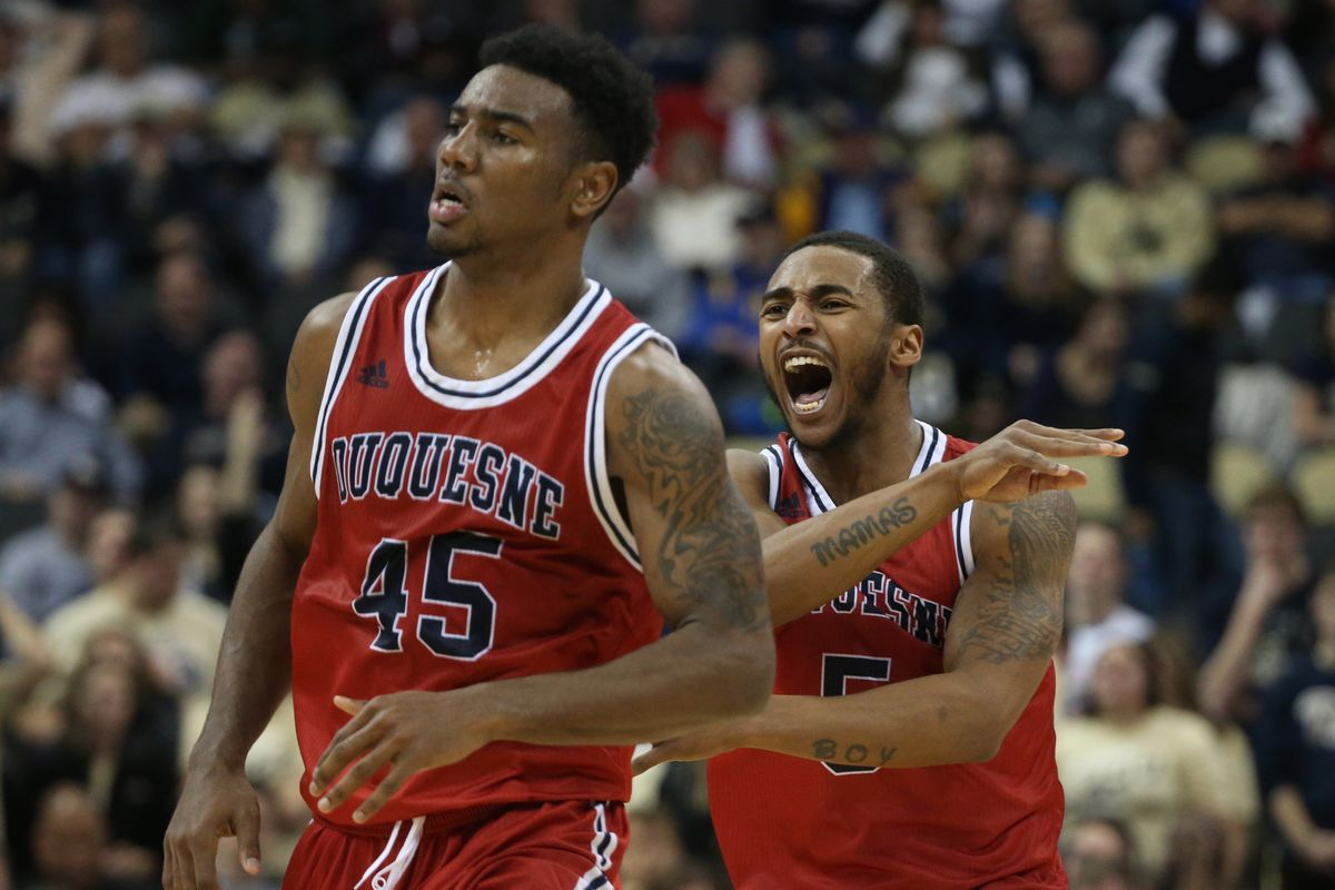 NCAA Basketball: Duquesne at Pittsburgh