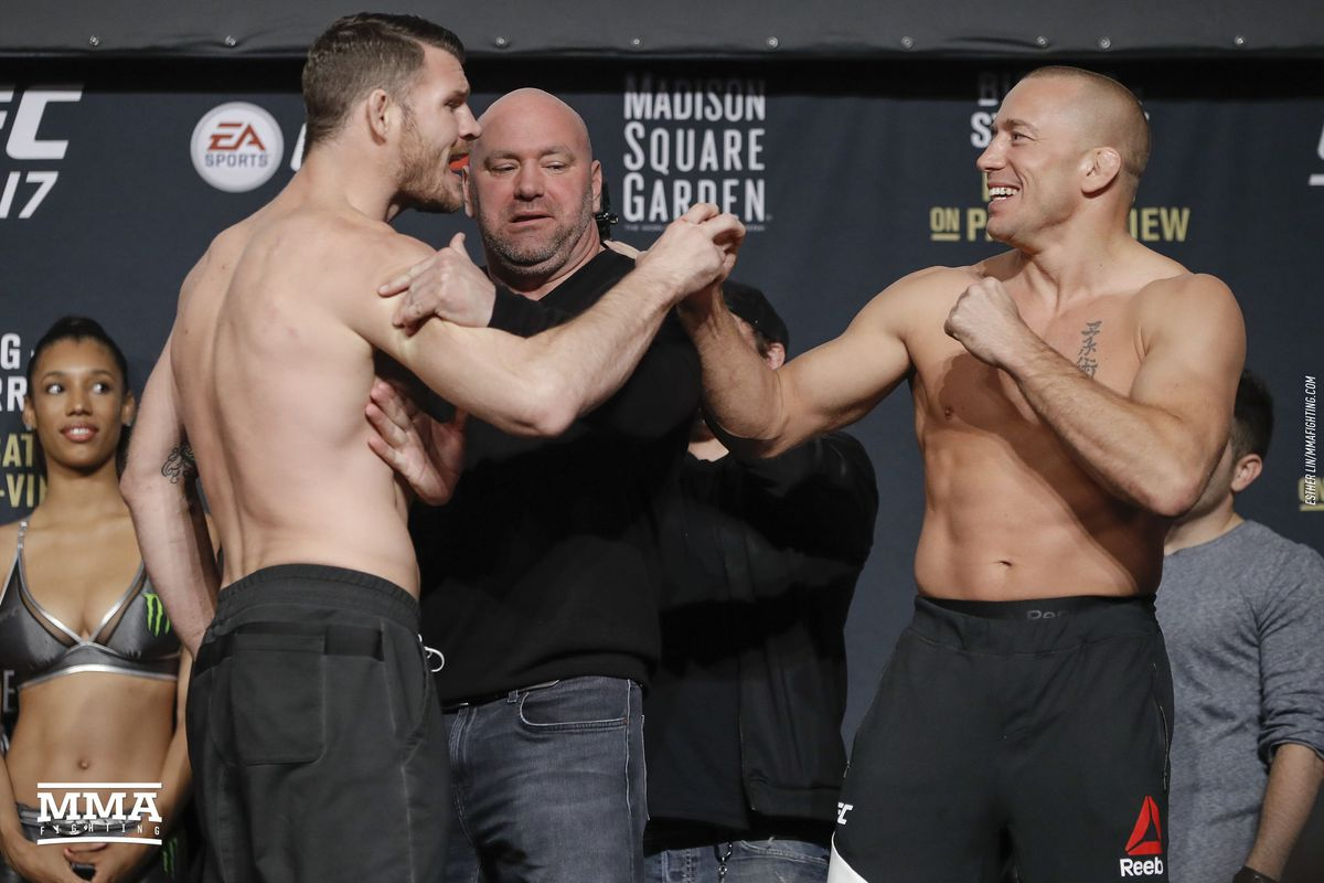 Ufc 217 Live Blog Michael Bisping Vs Georges St Pierre Mma Fighting