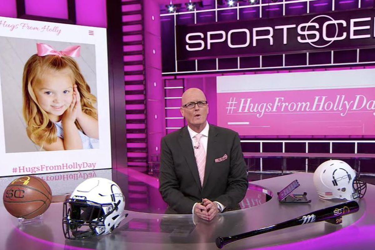 """Scott Van Pelt discussed """"Hugs For Holly Day"""" on ESPN last week."""
