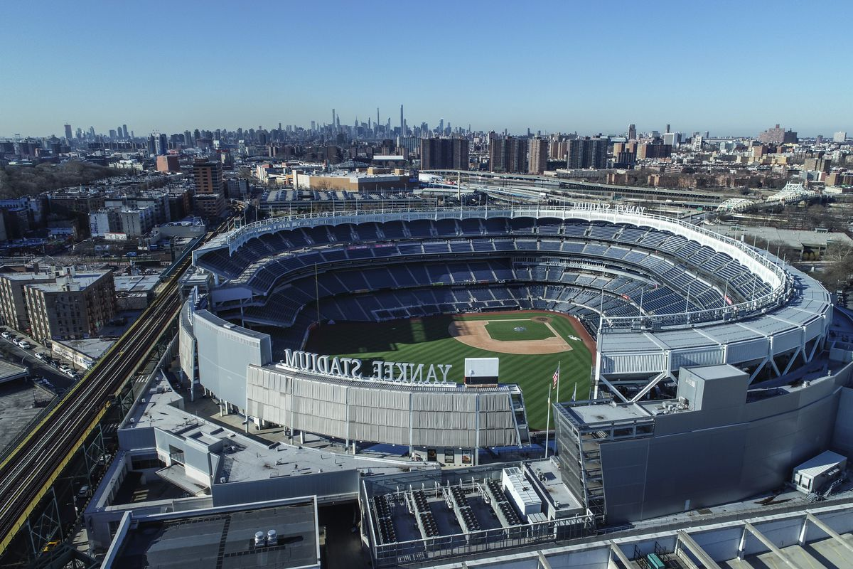 New York Gov. Andrew Cuomo said he could envision baseball at Yankee Stadium this year.