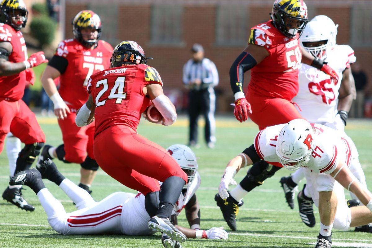 Maryland football Ty Johnson vs Rutgers