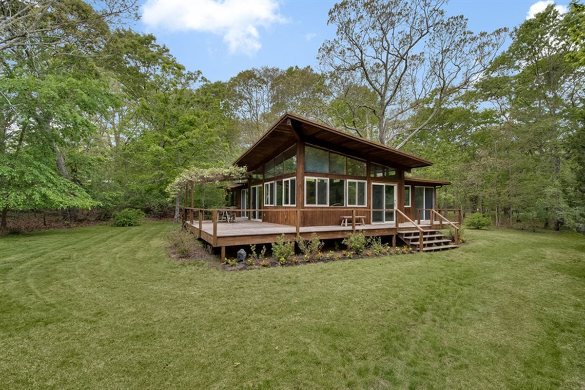 springs modern style home with slanted roof asks 995k curbed built in the 60s
