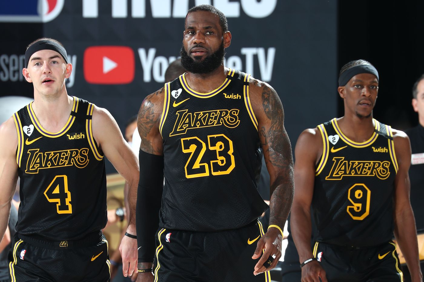 Nba Finals Lakers Will Wear Black Mamba Jerseys For Potential Series Deciding Game 5 Silver Screen And Roll
