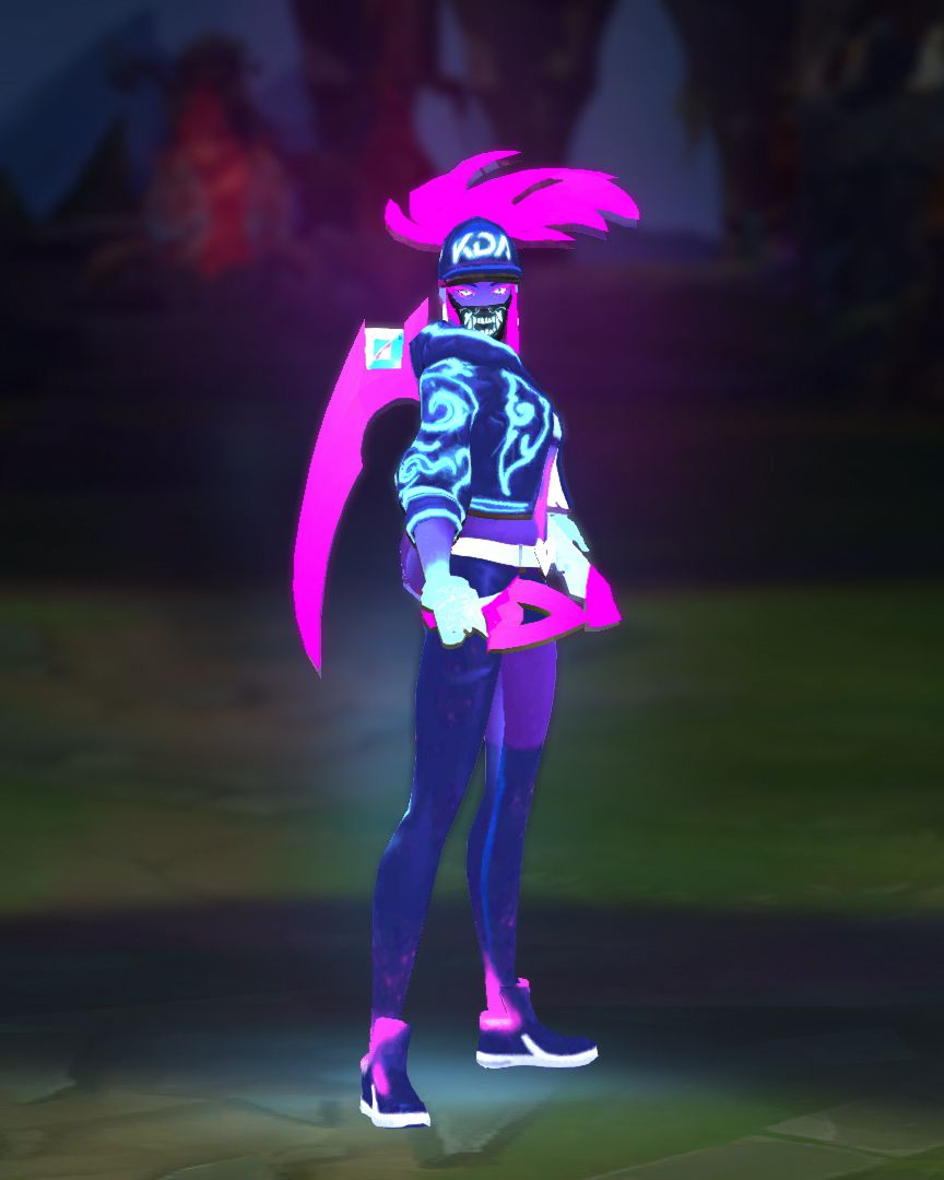 K/DA Akali is going to get a neon update - The Rift Herald