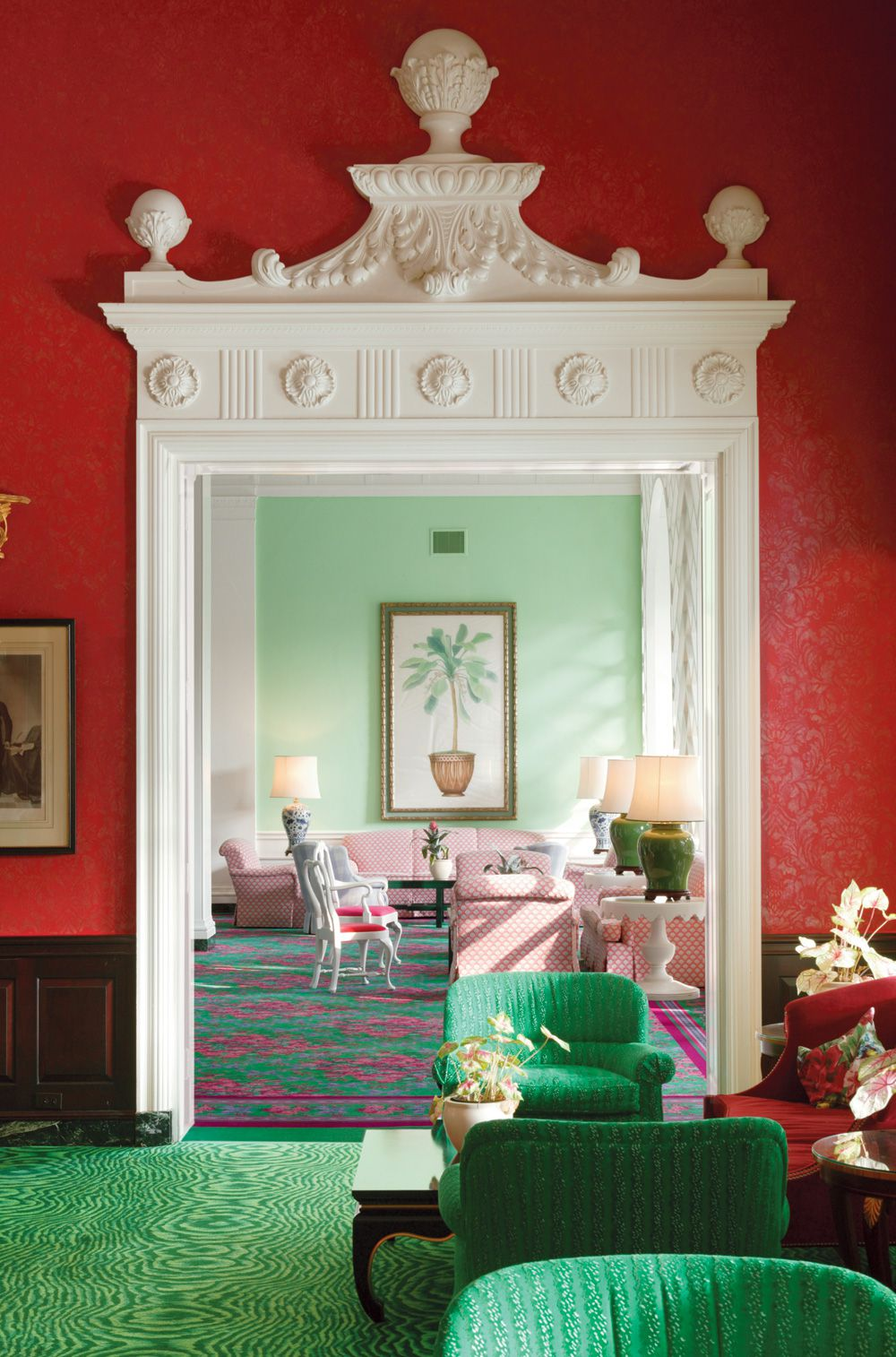 Inside 1930s Designer Dorothy Draper S Riotously Colorful World Curbed