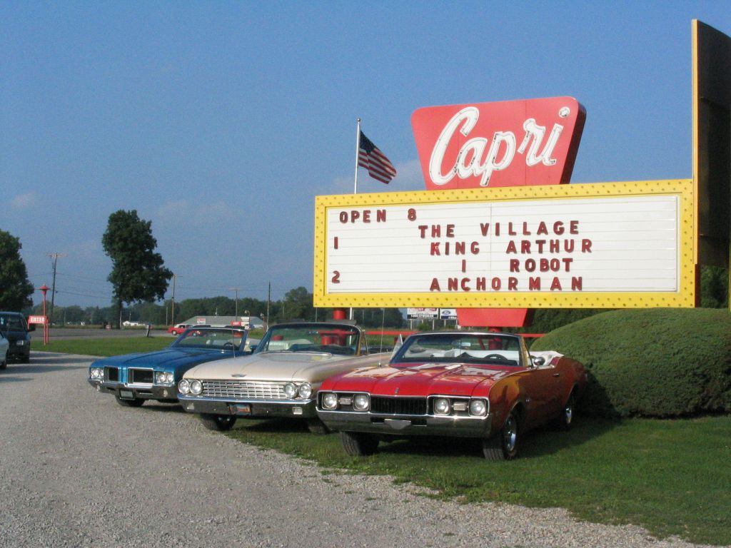 Mapping Michigans Remaining Drive In Theaters