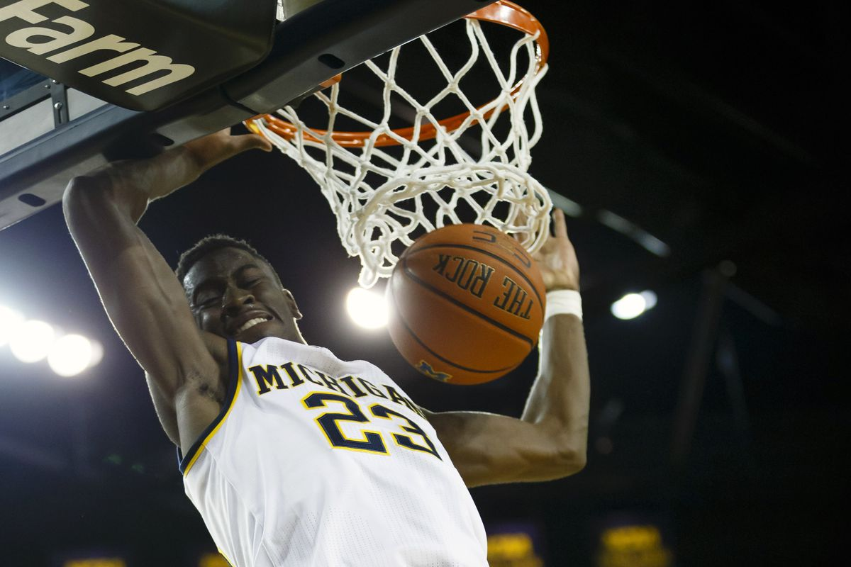 Our scouting reports indicate LeVert is able to dunk.