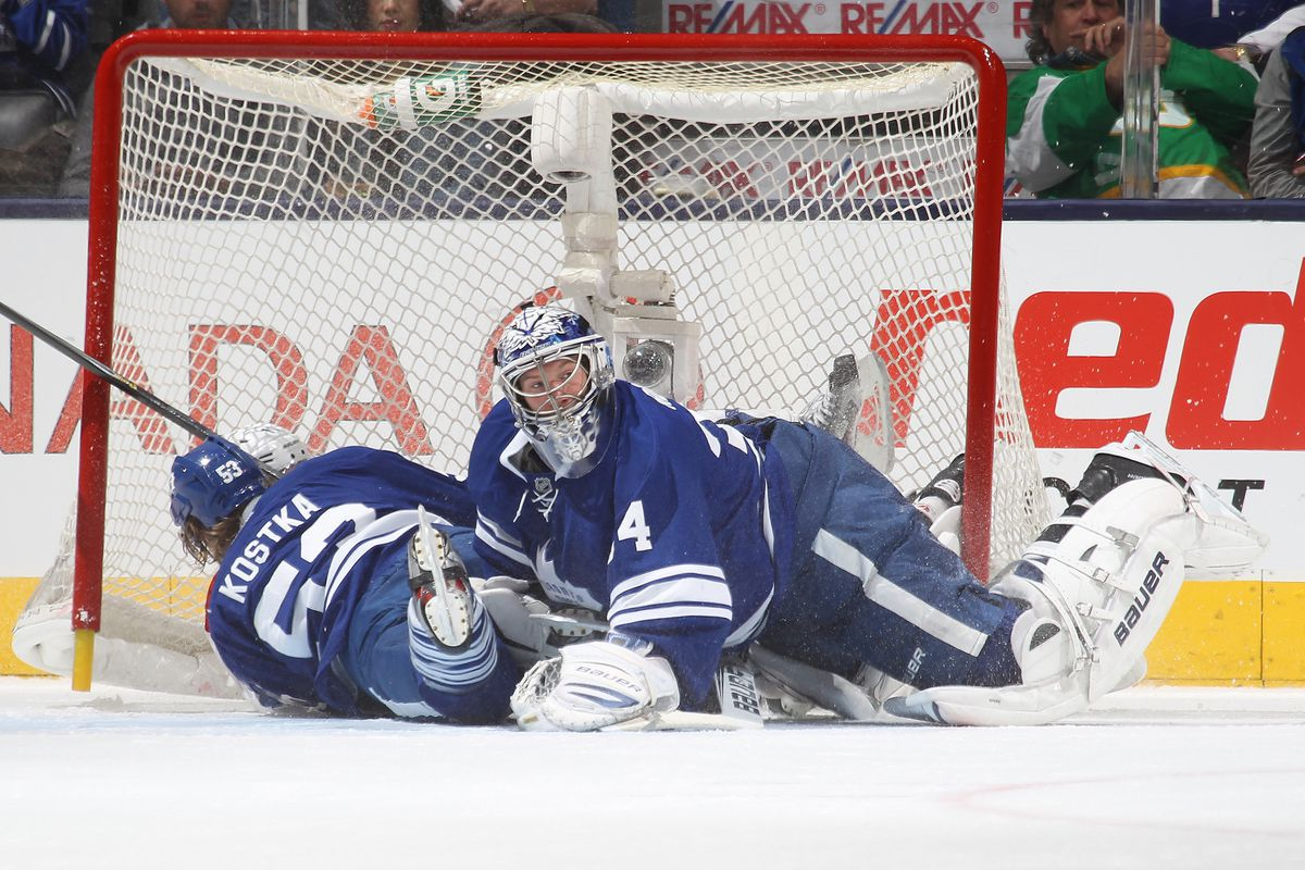 Leafs stumble into the Playoffs.