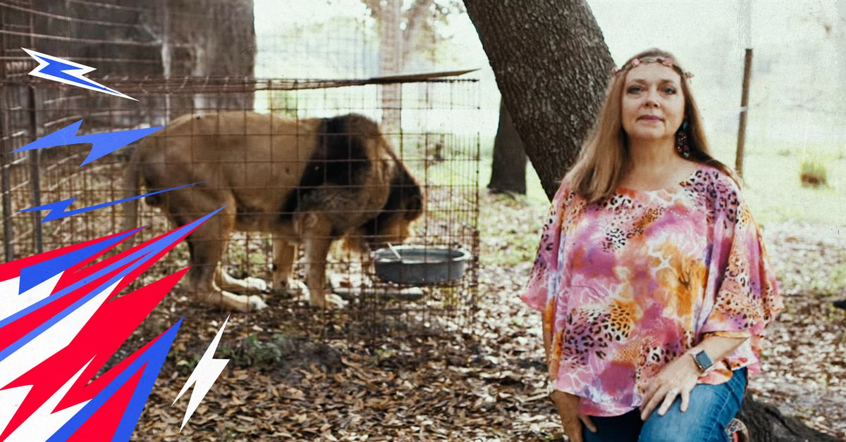 'Tiger King's' Carole Baskin is the villain a sports-free