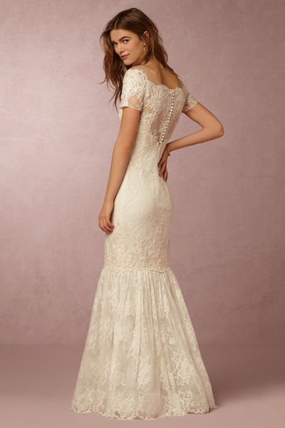 See Marchesas First Wedding Dresses For BHLDN