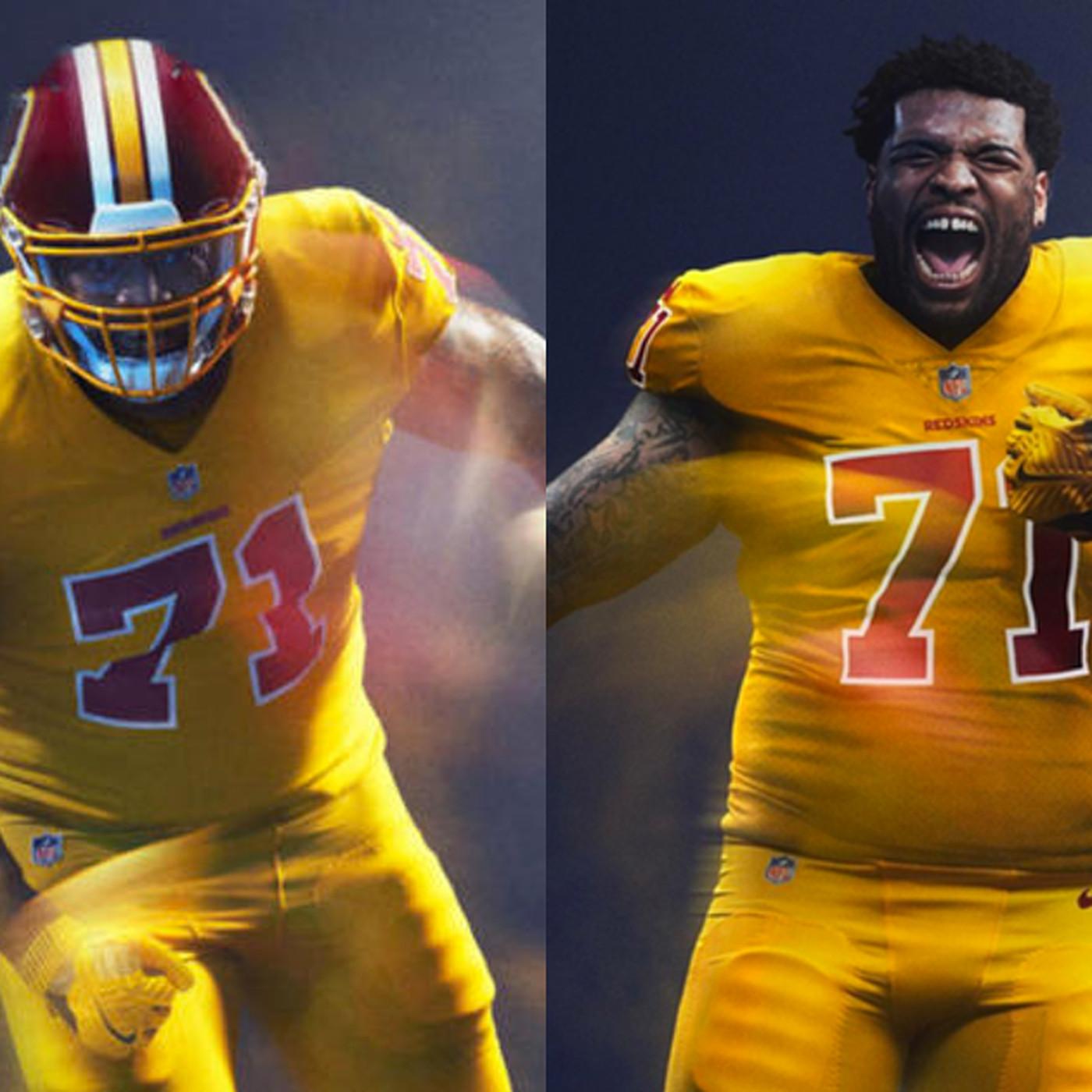 b70ade4740b Washington won't wear its Color Rush uniforms on 'Thursday Night Football'