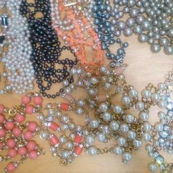 Beaded necklaces, $60