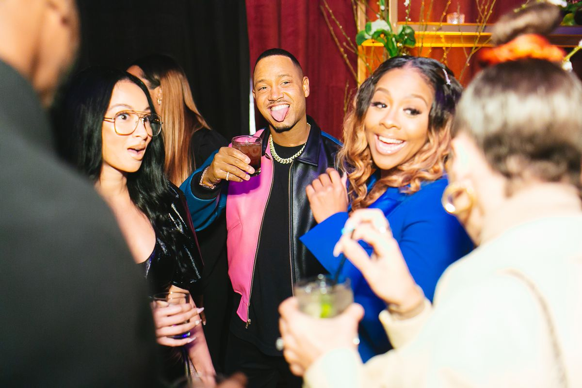 Miss Diddy with Terrence J and Draya