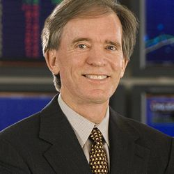 FILE - This undated file photo provided by the Pacific Investment Management Co., shows Bill Gross, manager of the PIMCO Total Return Fund. That fund returned 2.8 percent in the first quarter of 2012, which is in the top 13 percent among its peers in the intermediate-term bond fund category.
