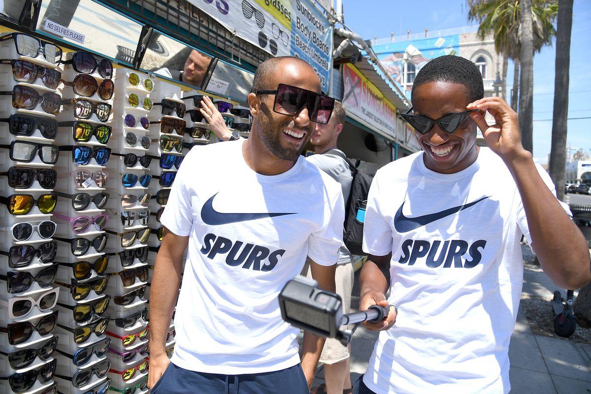 Tottenham Hotspur Players Visit Venice Beach