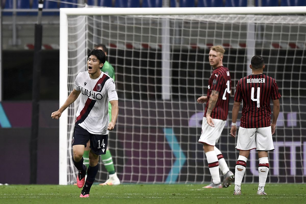Tactical Preview Ac Milan V Bologna Fc The Ac Milan Offside