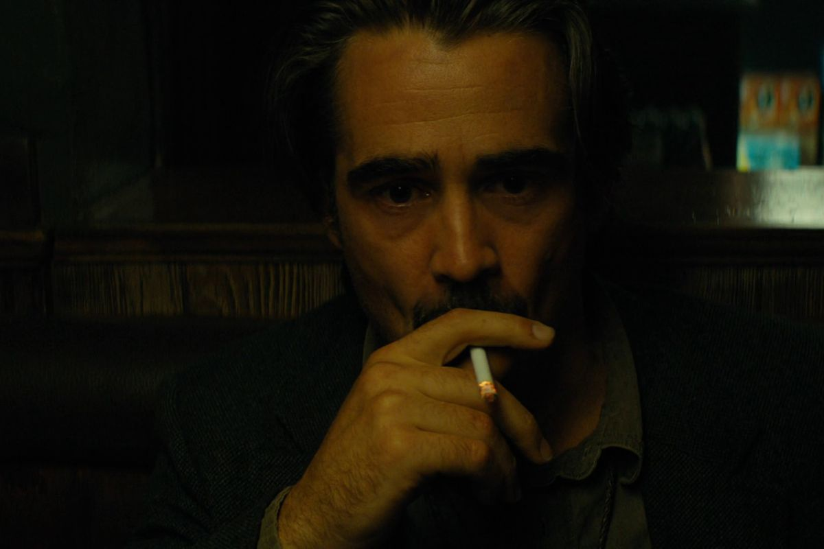 true detective - ray smoking