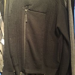 Men's sweater, size large, $139 (from $460)