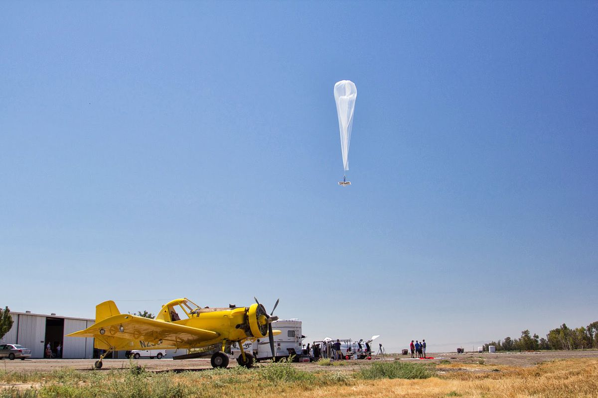 FCC will allow Alphabet's Project Loon to deliver air balloon LTE to Puerto Rico | THE VERGE