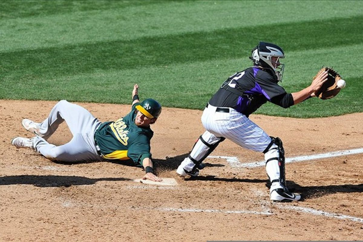 Note to Scott Cousins: This is how you slide.