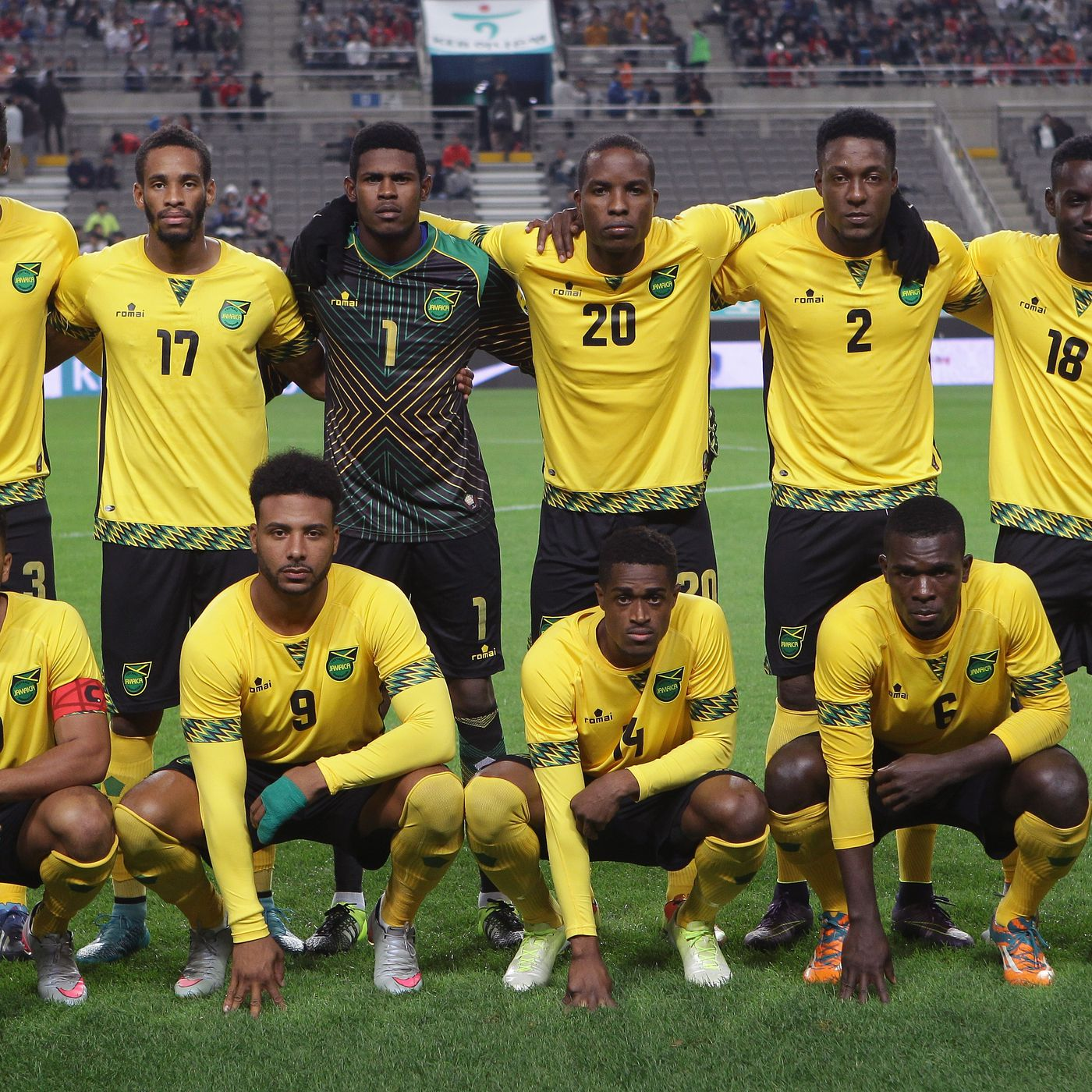 low priced 8a830 eef70 Copa America Centenario primer on the Jamaica National Team ...