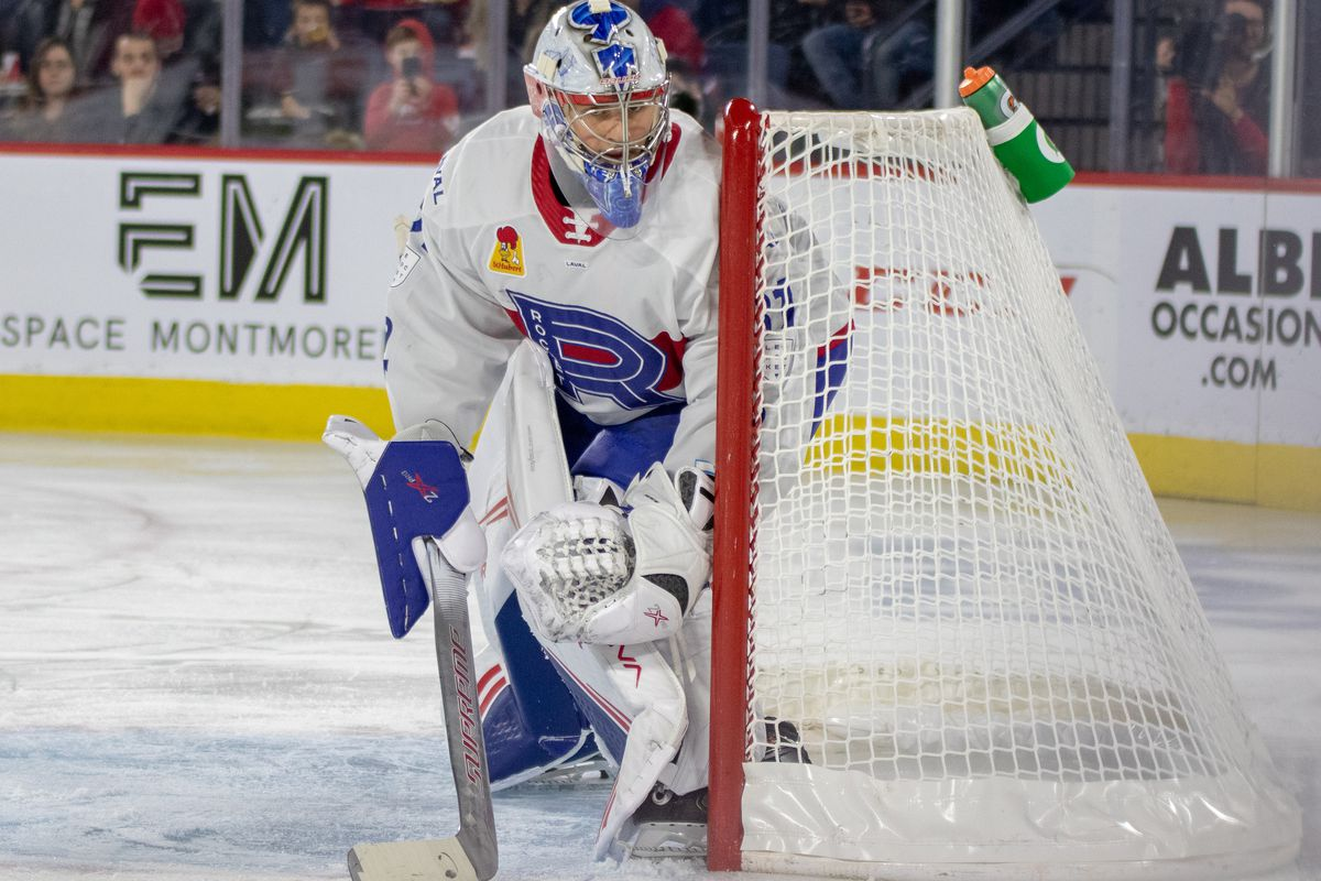 Rocket @ Moose highlights: Cayden Primeau earns shutout in lopsided win