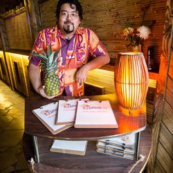 Head bartender Steve Yamada