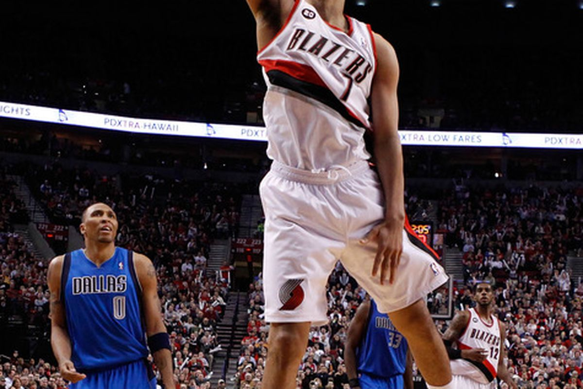 Brandon Roy destroyed the Mavericks in Game 4 in their first round playoff matchup, and could provide an interesting solution to the Mavericks back court issues.