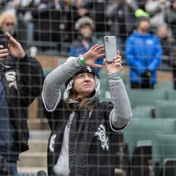 Thousands of fans watch the White Sox during home opener. | Erin Brown/Sun-Times