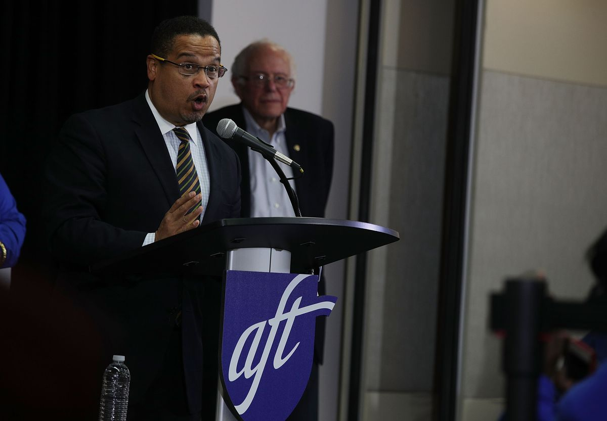 Rep. Keith Ellison, Along With Sen. Bernie Sanders, Speaks On His Vision For The Democratic Party