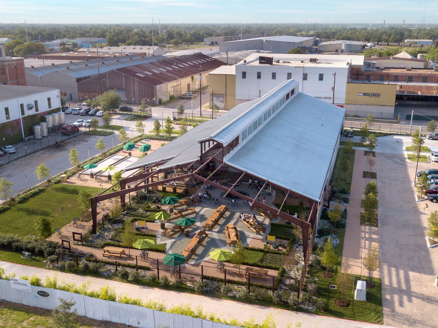 See Inside Saint Arnold S New Cathedral Inspired Beer Garden And Restaurant Eater Houston