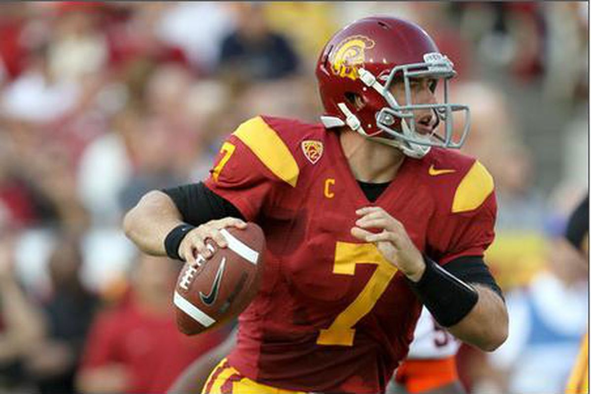 Matt Barkley will lead a loaded USC squad that has a shot at the BCS National Championship in the 2012 season, never mind the Pac-12.